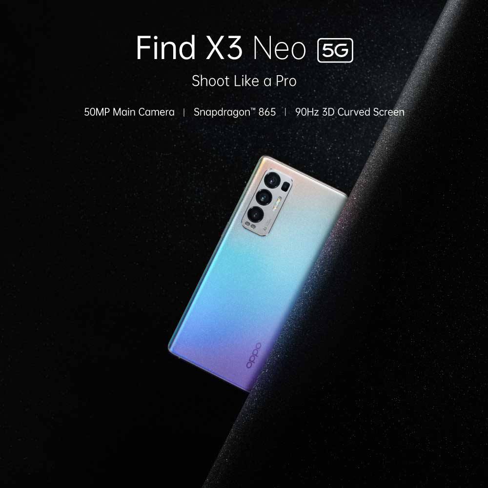 OPPO Find X3 Neo Look, Camera, Design, Specifications