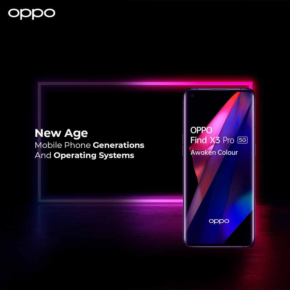 OPPO Mobile Phone Generations and operating Systems
